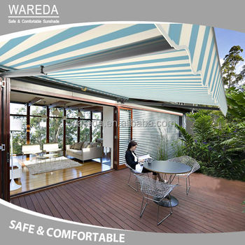 New Design Aluminum Retractable Canopy Rain Awning