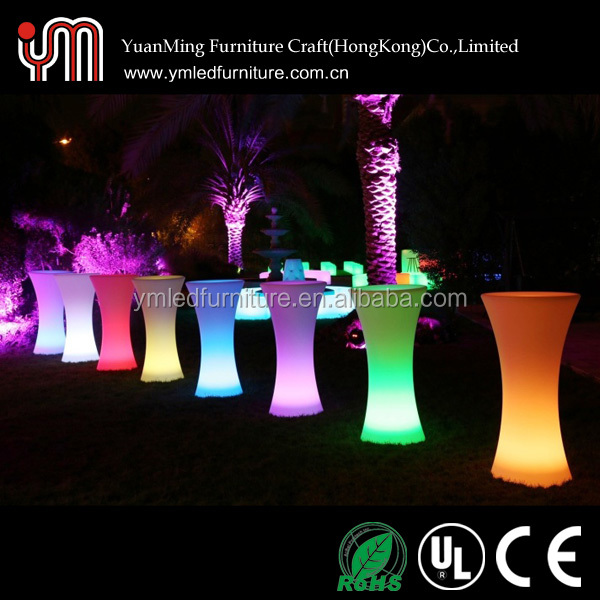 Wholesale Led Bar Table,Led Cocktail Table