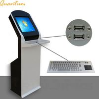 computer type custom self service touch screen a4 printer kiosk with thermal printer optional