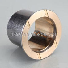 ISO standard cnc machining bimetal flanged bearing bushing leaf spring bushing