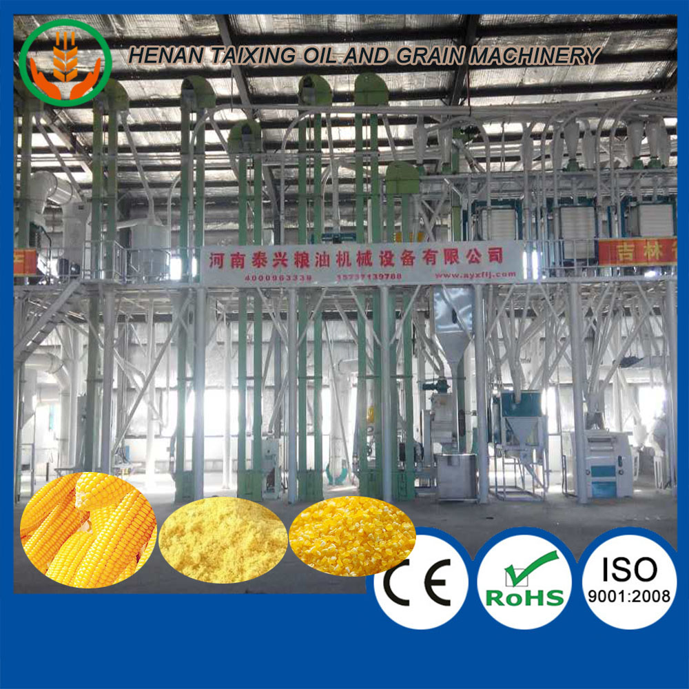 5-200ton per day corn grits grinding mill machine