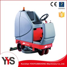 Ride-on Scrubber wet dry Machine