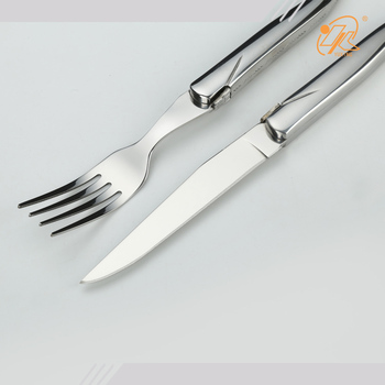 Factory Wholesale hotel restaurant stainless steel Fork and knife cutlery set
