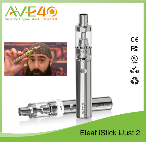 2016 chinese exports wholesale most popular products Eleaf ijust2 kit with bbtank vape pen