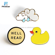 Hot selling custom promotional gifts cute metal lapel pin badge
