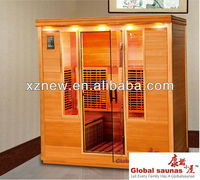 far infrared sauna room / spa hot tub outdoor sauna cabin gym health spa sliming equipment