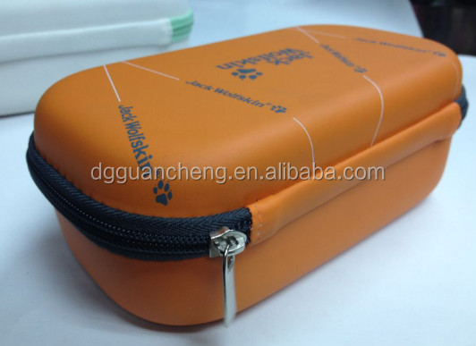 GC--Watch out! famous personalized round bulk eva cosmetic bag