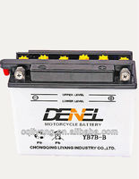 12V 7AH Referrence Japan's national standard chinese national standard motorcycle battery made in China (YB7B-B)