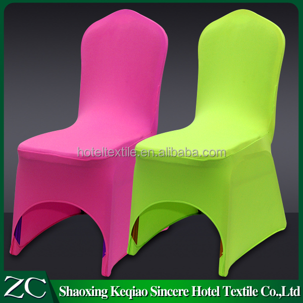 wholesale sale white hotel restaurant party arch spandex chair cover for wedding