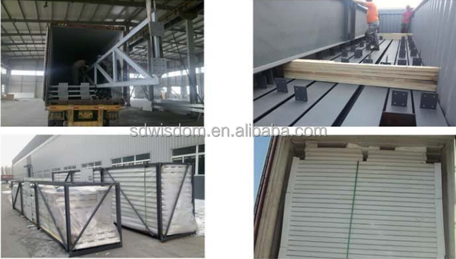 free designing of steel structure building