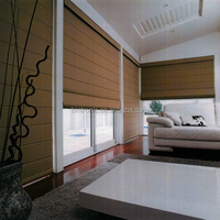 Bintronic Home Furniture and Office Curtains and Blinds Motorized Roman Blinds Designer Home Decor