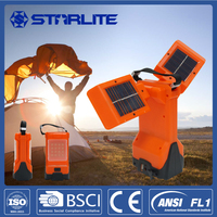 STARLITE rechargeable AC-DC charging mini solar power lantern of leds