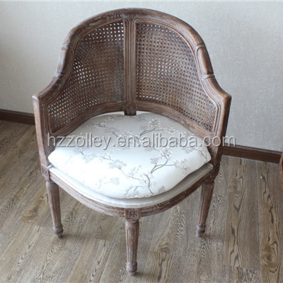 America style antique indoor wood decorative muslim prayer chair