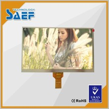 10 '' lcd tv panel parts transmissive mode screen Landscape type 1024*600 without TP