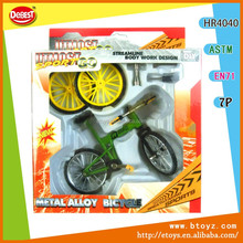 Assemble Toy Alloy Bicycle