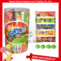 Fruit and Chocolate Flavour Hard Candy