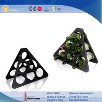 triangle shape items Creative wine holder home bar beer holder wine rack