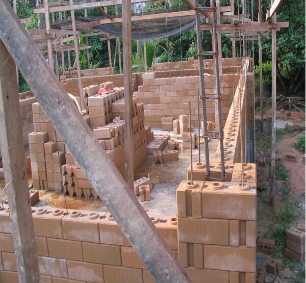 Blocks Interlocking Press Earth Us : Wholesale qmr manual cinva ram compressed earth block