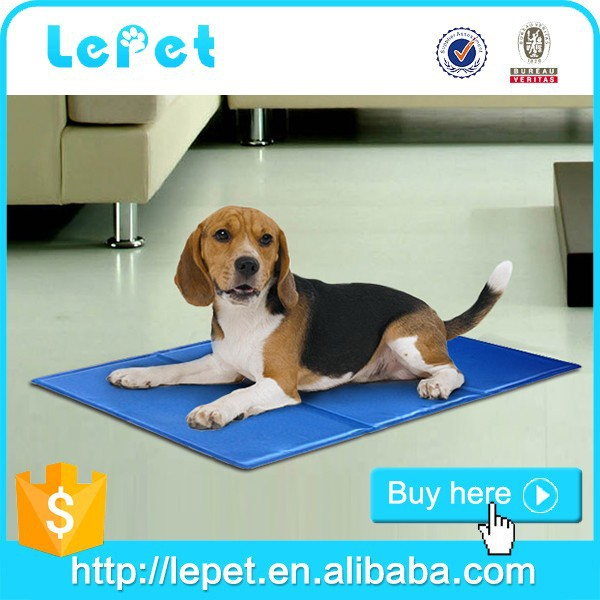 For Amazon and eBay stores wholesale dog cool gel bed Pet cooling mat for dog