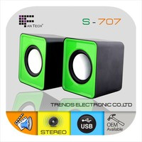 Cheapest Speaker 2.0 Mini USB Speaker Good Quality S-707