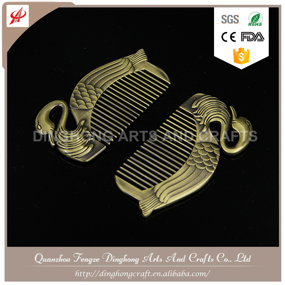 2017 Antique Custom Logo Hair Comb Professional Salon Comb