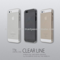 iCrown Crystal Clear Hard Cover Case for iphone 5/5S