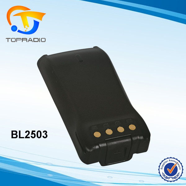 TOPRADIO Professional High Capacity Battery BL-2503 for HYT Radios Hytera PD780 PD780G PD700 PD700G PD700S PD705 PD705