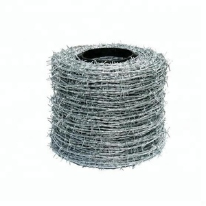 galvanized barbed wire/PVC coated barbed wire/barb wire fencing(Factory)