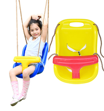 children swing chair outdoor kids hanging plastic garden single toy swing set