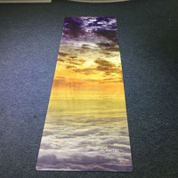 Machine washable non-toxic yoga mat guaranteed by RoHS