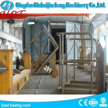 Paint Spray & Powder Coat Booths /used sand blasting machines