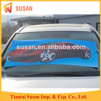 PP paper waterproof roller shades car front sun shade