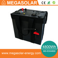 4800Wh mobile backup power station with AC and DC output