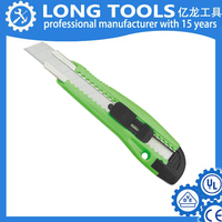 hot sale Sliding Folding Cutter Plastic Box Cutters Retractable Steel Utility Knife