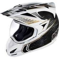 Icon Variant Carbon Cyclic Full Face Helmet - White