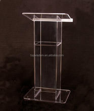 Durable best sell acrylic perspex pulpit lectern dais