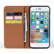 Shockproof stand card slots wallet flip jean pu leather cases for iphone 7
