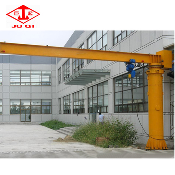 Remote Control BZD Model Pillar Mounted Jib Crane