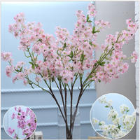 Shuyi artificial cherry blossom branches wholesale for wedding decoration
