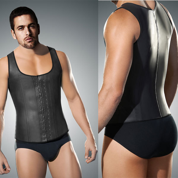 Accept paypal body slimming sexy male waist training