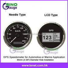 Manufactuer Price 85mm GPS Motorcycle Speedometer