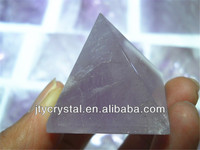 dong hai pure natual quasrtz crystal clear quartz amethyst crystal pyramid for home decor.