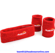 High Quality Design Your Own Sweatband & Arm Sweatband & Sport Sweatband