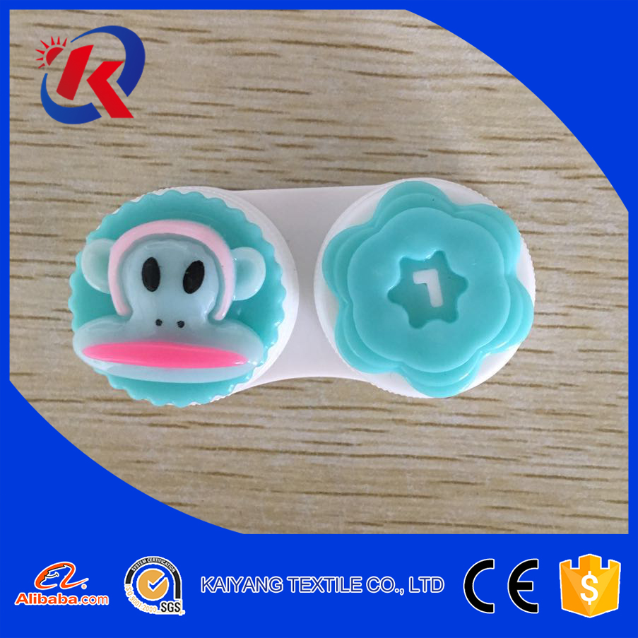 Cute portable contact lens cases with low price
