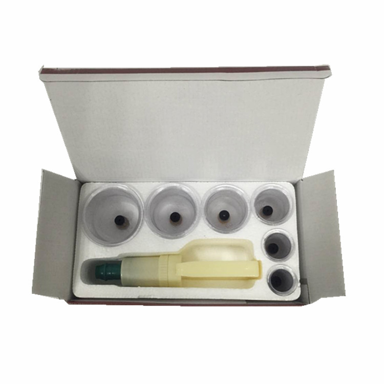 The lowest price cupping massage set high quality cupping kit with 6 cups
