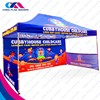 custom commercial colorful 4x4 pop-up tent