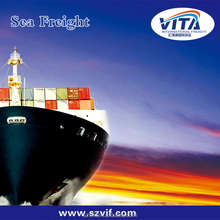 LCL sea shipment door to door services ocean price from China to Kansas city,USA