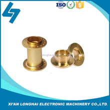 cnc machine processing brass parts service, custom copper components