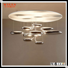 Hot selling new design modern glass led light chandelier