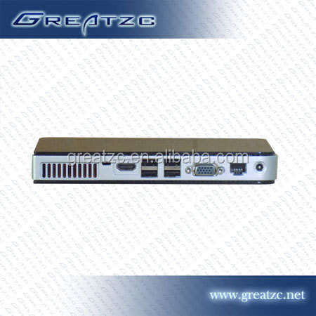 ZC-H550 High Performance Atom D2550 NVIDIA GT218 Mini PC support 1080P,Industrial Computer PC with VGA&HDMI